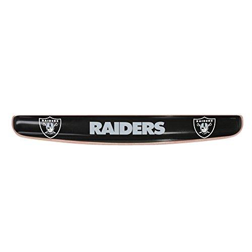FANMATS 17705 NFL Oakland Raiders Gel Keyboard Wrist Rest