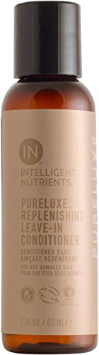 Intelligent Nutrients Travel Size PureLuxe Replenishing Leave-in Conditioner - Moisturizing Leave-in Treatment for Dry & Damaged Hair (1.7 oz)