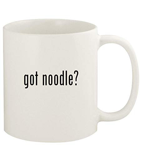 got noodle? - 11oz Ceramic White Coffee Mug Cup, White