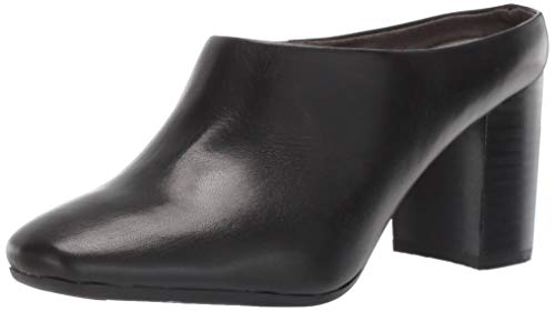 Aerosoles Women's CAST Stone Sneaker, Black Leather, 7 M US