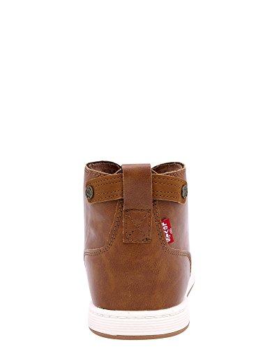 Levis Atwater Burnish Sneakers, Tan, 7 Tan
