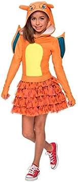 DISBACANAL Disfraz Charizard Pokemon niña - -, 3-4 años ...