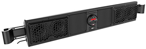 Yamaha Viking Bluetooth Overhead UTV Audio System fits cages with Inside Measurement 49.25'' to 56.0'' BY MTX Audio MUDSYS46 by MTX Audio