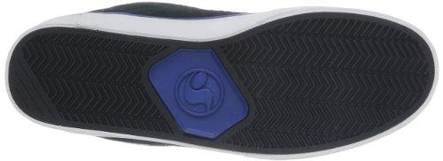DVS APPAREL Evade - Zapatillas de deporte exterior Hombre Negro (Black/Royal Suede)