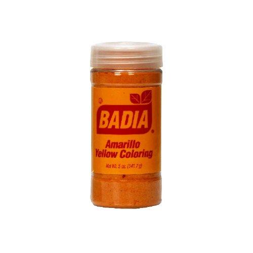 Amazon.com : Badia Amarillo Yellow Coloring, 4.25 Ounce - 12 per ...