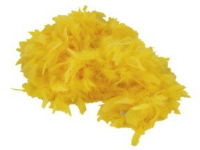 - Deluxe Large Yellow 72 Costume Accessory Feather Boa [Apparel]