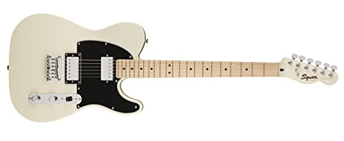 Squier by Fender Contemporary Telecaster Electric Guitar - HH - Maple Fingerboard - Pearl White ()