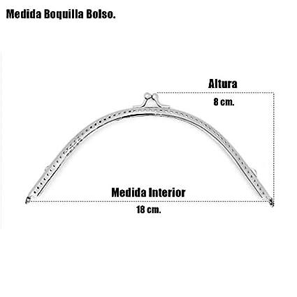 RUBY - Cierre de Boquilla para Bolso, Marco Monedero ...