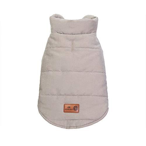 (Geetobby Pet Dog Warm Shirt Thick Vest Puppy Cotton Jacket Fashion Coat Shirts)