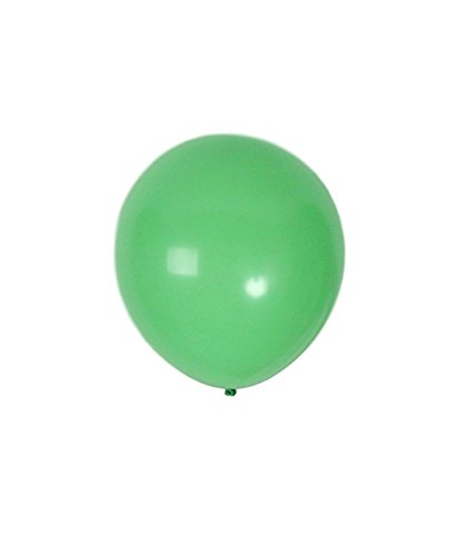 Treasures Gifted Light Lime Mint Green Matte Latex Balloons Birthday Decorations 12 Inch 36 Pack of Kiwi Neon Party Supplies for St Patrick Day Christmas or Wedding Backdrop