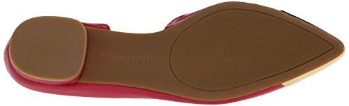 Ballet Flat West Women's Nine Pink Leather Overit IqxUFOg