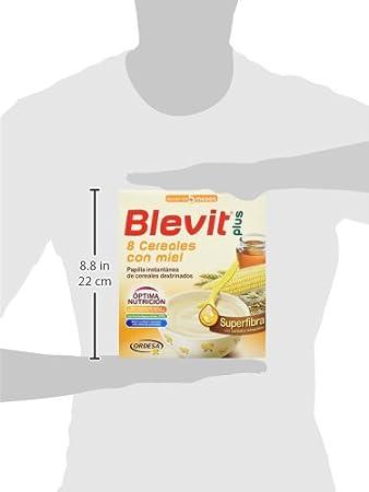 BLEVIT Plus Superfibra 8 Cereales con Miel - 600 gr: Amazon.es: Amazon Pantry