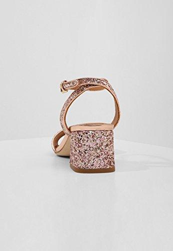Ash Remix Sandalette Con Scintillanti Arrossire / Oro Rosa