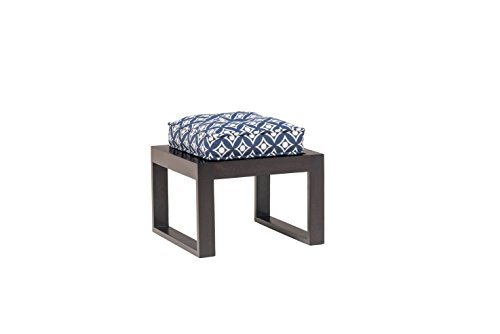 India Covers Next Solid Wood Stool (Ebony Finish, Brown)