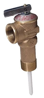 T&P Relief Valve Extended Body by BARNETT SUPPLY
