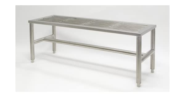 Super Stainless Steel Gowning Benches Bandy Amazon Com Gmtry Best Dining Table And Chair Ideas Images Gmtryco