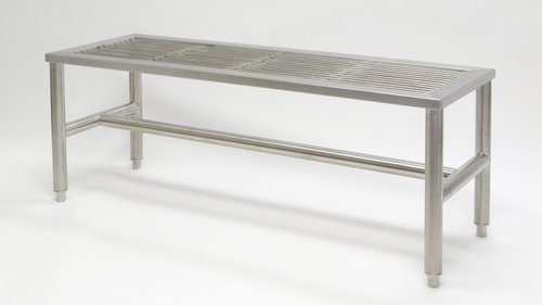 Swell Stainless Steel Gowning Benches Bandy Amazon Com Gmtry Best Dining Table And Chair Ideas Images Gmtryco