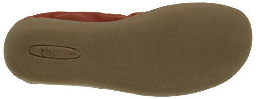 Femme Rouge Carmin TBS Taupe Ballerines Macash RqO4x87