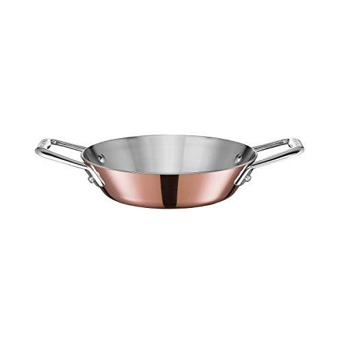 Scanpan 77151600 Maitre 'D Copper Mini Paella/Tapas Pan, 6.25