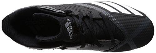 Pictures of adidas Men's Freak X Carbon Mid DA9635 Black/White/Ngtmet 2