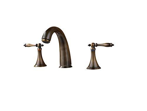 Küche Bad Wasserhahnbadarmaturen Doppelgriff Becken Wasserhahn Kalt Und Warm Becken Wasserhahn Drei Loch Doppel