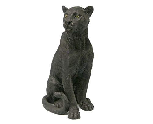Black Panther Big Cat - DWK Ebony Black Panther Figurine Statue
