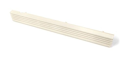 Whirlpool Part Number 8184243: Grille. Vent (Almond) (Kitchen Aid Vent Grille compare prices)