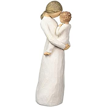 Willow Tree hand-painted sculpted figure, Tenderness