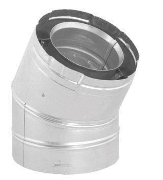 DuraVent 46DVA-E30 4'' Inner Diameter - DirectVent Pro Direct Vent Pipe - Double, Galvanized