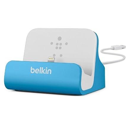 Belkin Lightning Lade/Sync-Dockingstation (mFI-zertifiziert, incl 1,2m USB-Kabel, geeignet für iPhone 8, iPhone 7, iPhone 6/6