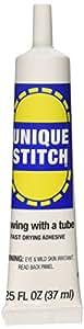 Dritz 44153 Unique Stitch Fabric Glue, 1.25 oz