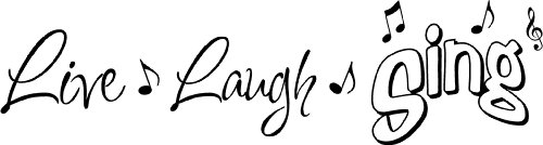 Laugh musical notes quotes sayings product image