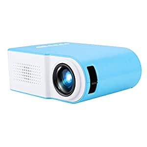 Mini proyector LED, YG210 1080P HD 20-80 pulgadas Pantalla ...