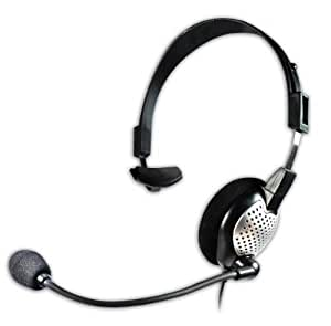 usb headset with noise cancelling boom microphone for nuance dragon. Black Bedroom Furniture Sets. Home Design Ideas