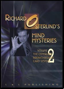 Mind Mysteries Vol. 2 Breakthru Card Sys. by Richard Osterlind