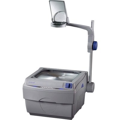 Apollo Horizon 2 Overhead Projector - Open - Doublet - 2000 lm - Gray - Sold as 1 / Each
