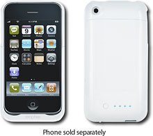 (Mophie Juice Pack Air Charging Case for Apple iPhone 3G and 3GS - White)