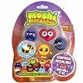 Moshi Monsters Moshlings Mini Figures - Series 2 - Pack of 5 Figures (w/ 1 code) (random figures)