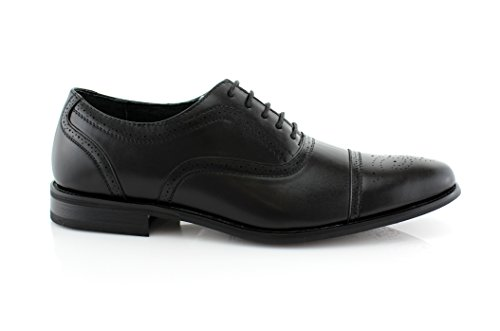 Comfortable Black Shoes I Wing Formal Dress Delli Shoes Tip Mens Lace Aldo Classic Design Dress up 8zzqZY