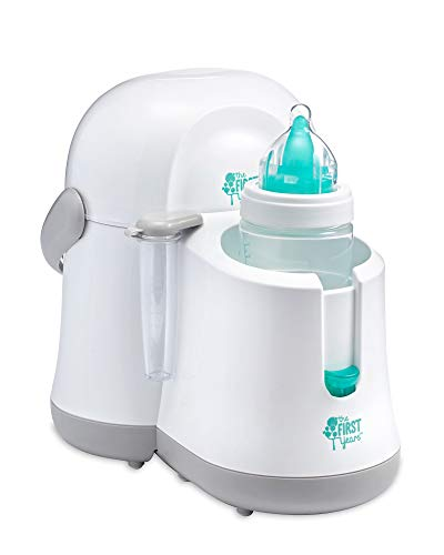 The First Years Night Cravings Bottle Warmer & Cooler, Blue/White (Mind Won T Shut Off To Sleep)