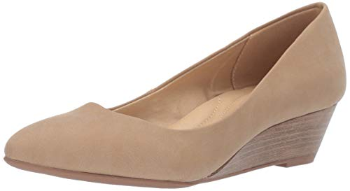 (CL by Chinese Laundry Women's Alyce Pump, Nude Nubuck, 7.5 M US)