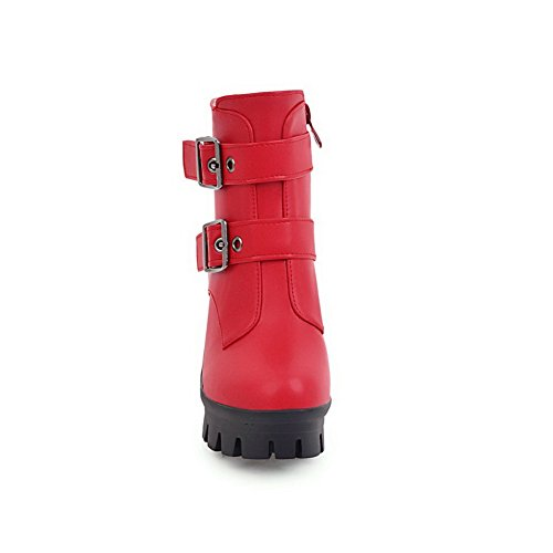 BalaMasa Abl10404, Plateforme femme - Rouge - Red,