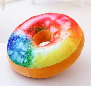 rngwxigfmrwj Juguete de Felpa, Donuts 3D Almohada Forma de ...