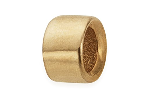 200 Pieces 14Kt Gold Filled Crimp Beads 1.6x1 mm ()