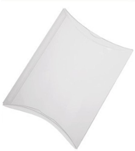 Pillow Box Frosted with Hanger 10 Pack Size 5