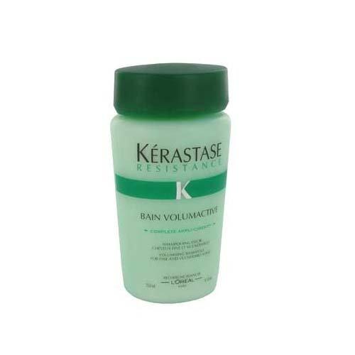 Résistance Kerastase Bain Volumactive Shampooing volumisant pour cheveux fins et vulnérables, 8,5 once