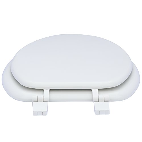 Karlson KS1242-1901-WH Standard Molded Wood Elongated Toilet Seat White by Karlson (Image #2)