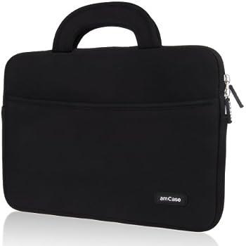 5b5c5b194 amCase Chromebook Case-11.6 to 12 inch Neoprene Travel Sleeve with  Handle-Black