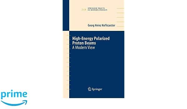 High-energy polarized proton beams : a modern view