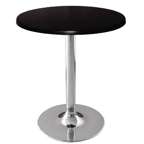 600/mm nero Werzalit Plus CC512/piano tavolo rotondo